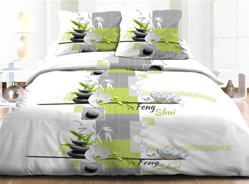 parures de draps imprim es pur coton 57 fils. Black Bedroom Furniture Sets. Home Design Ideas