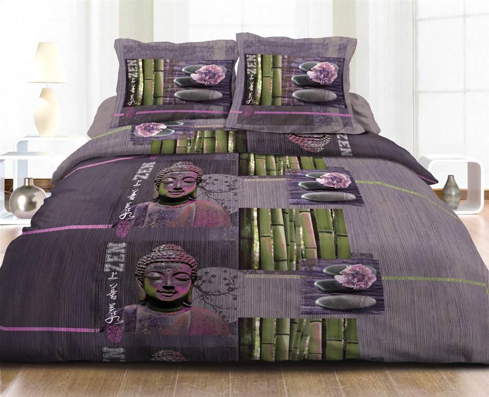 housses de couette imprim es 220x240 pur coton 57 fils. Black Bedroom Furniture Sets. Home Design Ideas