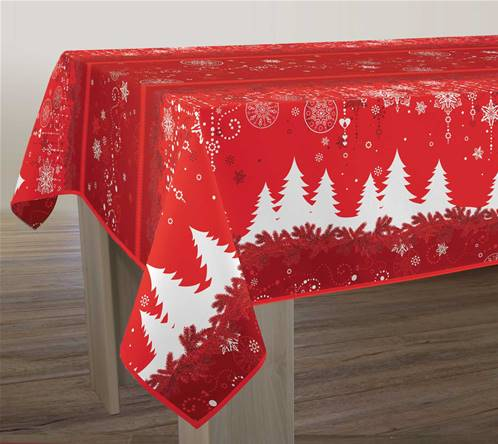 Nappe anti taches<BR>Sapin