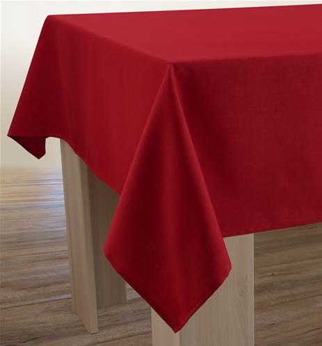 nappes anti taches unies effet lin. Black Bedroom Furniture Sets. Home Design Ideas