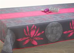 Nappes anti taches<BR>Lotus fuschia