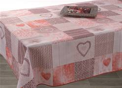 Nappe anti taches<BR>Ficello Rouge