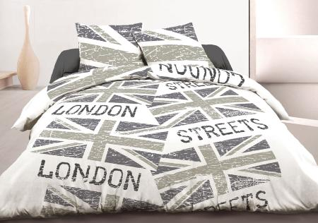 housses de couettes et parures coton 57 fils. Black Bedroom Furniture Sets. Home Design Ideas