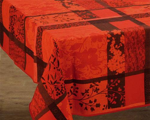 nappes anti taches imprim es. Black Bedroom Furniture Sets. Home Design Ideas