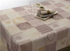 Nappe anti taches<BR>Ficello naturel